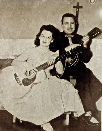 WCBD-TV - Billie and Gordon Hamrick, circa 1950's