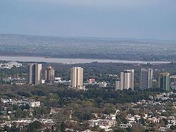 Bird eye view of Islamabad