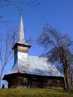 Wooden Church in Vădurele
