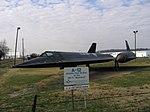 Blackbird, Southern Museum of Flight, Birmingham, A-12 Historic First Version of the SR 71 Blackbird - panoramio.jpg
