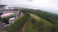 File:Blackhawk flyover at MLB Fort Bragg Game.webm