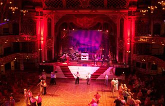 Blackpool Tower - Jazz event in the Tower Ballroom