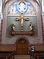 Bliesen St. Remigius Innen Missionskreuz.JPG