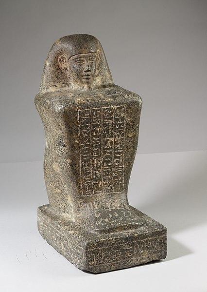File:Block Statue of the God's Father Pameniuwedja, son of Nesmin and Nestefnut MET 07.228.25 EGDP023154.jpg