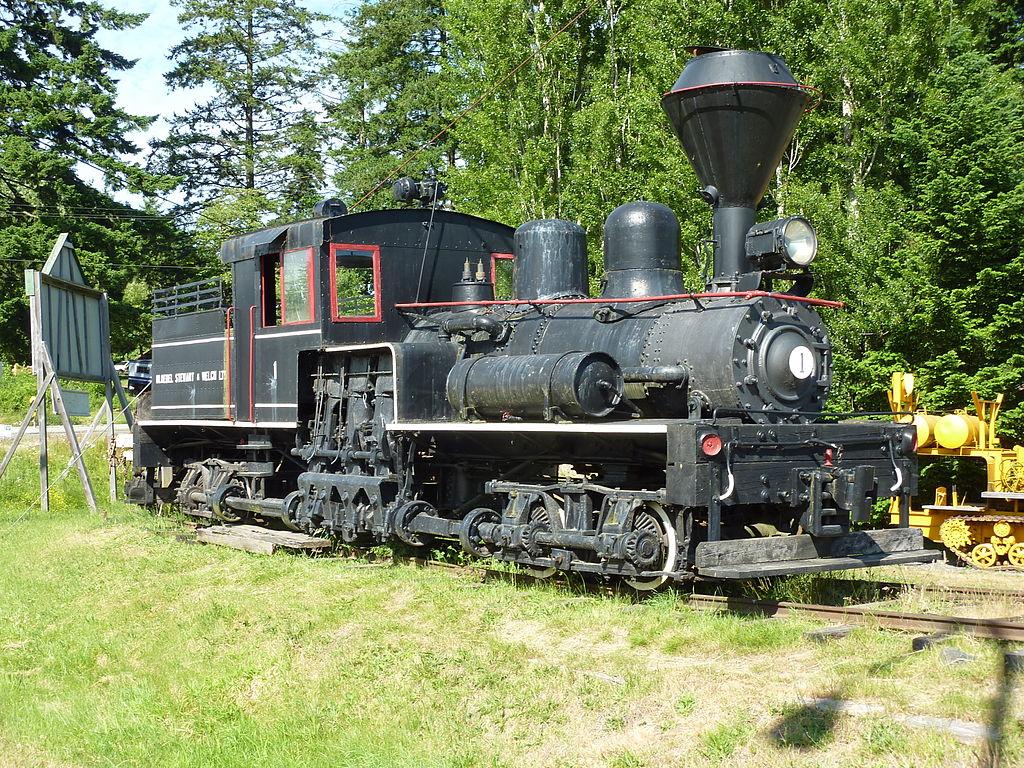 Bloedel Stewart & Welch Ltd steam locomotive no 1