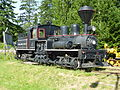 Bloedel Stewart & Welch Ltd steam locomotive no 1.JPG
