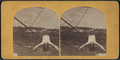 Blondin. (Tightrope walker dangling from a wire over the Niagara.), from Robert N. Dennis collection of stereoscopic views.png
