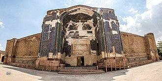Blue Mosque, Tabriz - The grand entrance Ivan of Blue Mosque, Tabriz, Iran