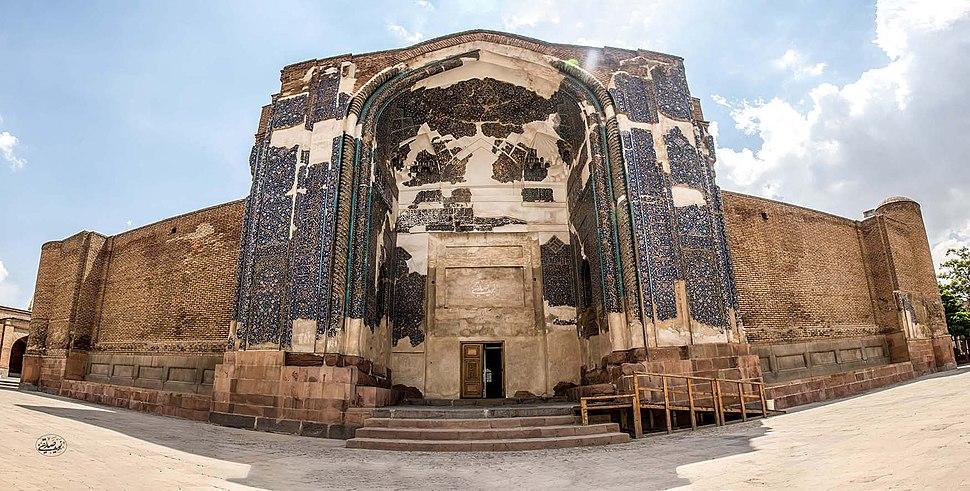 Blue Mosque, Tabriz, Iran