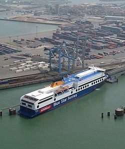 Rosyth zeebrugge ferry service wikipedia for Port zeebrugge