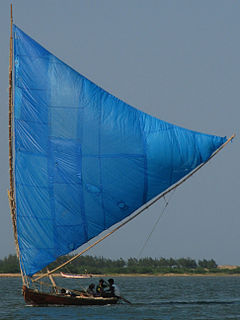 Blue sail on Pulicat Lake.jpg