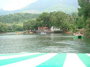 Courtallam - Boat House.