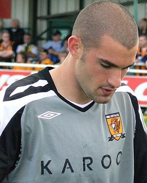 Boaz Myhill - Myhill playing for Hull City in 2007