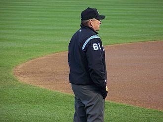 Bob Davidson (umpire) - Davidson umpiring a game at Camden Yards in April 2007