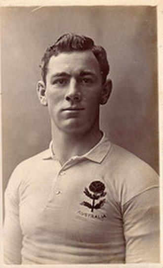Bob Craig (rugby) - 1908 Wallaby