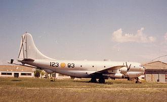 Boeing KC-97 Stratofreighter - Image: Boeing KC 97L Stratotanker Albacete 3