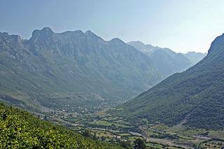 Shkrel Municipal unit in Shkodër, Albania