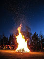 Bonefire at skansen on walpurgis night.jpg