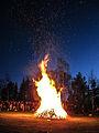 Bonefire at skansen on walpurgis night.jpg