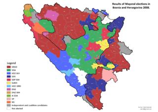 2008 Bosnian municipal elections