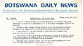 Botswana Daily news Tuesday, January 31 1967 (Botswana History).jpg