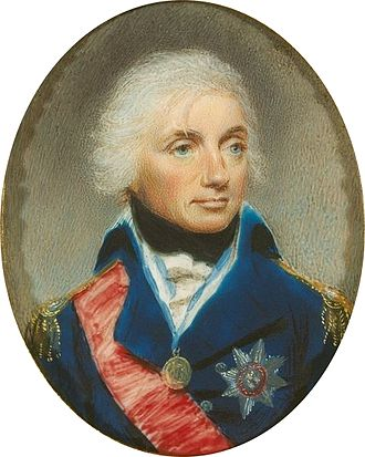 Robert Bowyer - A miniature portrait of Lord Nelson by Bowyer (c. 1800)