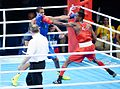 Boxing at the 2016 Summer Olympics, Sotomayor vs Amzile 14.jpg