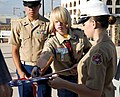 Boy Scout Dedicates Fire Pit for Flag Retirement 140528-M-HW460-083.jpg