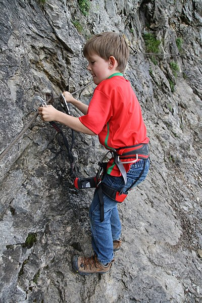Klettergurt (Photo aus Wikipedia)