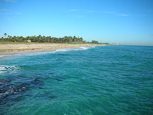 Boynton Beach, Florida - Coast of the Boynton Beach Inlet and Ocean Ridge Oceanfront