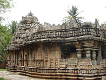 Brahmeshvara Temple (1171 AD) at Kikkeri, Mandya district.JPG