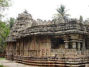 Brahmeshvara Temple, Kikkeri - The Brahmeshvara temple (1171 A.D.) at Kikkeri in Mandya district