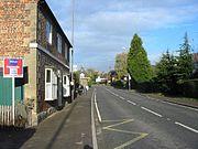 Brailsford village.