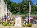 Brasseuse (60), monument aux morts, au cimetière, rue Charles-de-la-Bédoyère.jpg