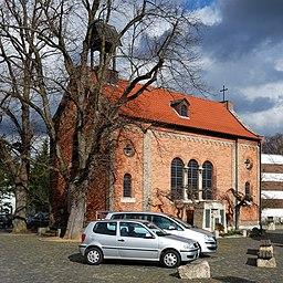 Hinter der Kirche in Braunschweig