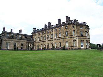Bretton Hall, West Yorkshire - Bretton Hall's south range
