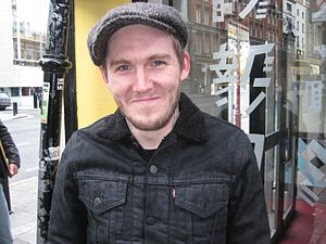 Brian Fallon - Brian Fallon in Dublin, Ireland, November 2010
