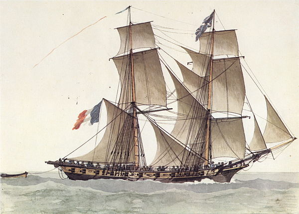 Age of Sail corvettes of France