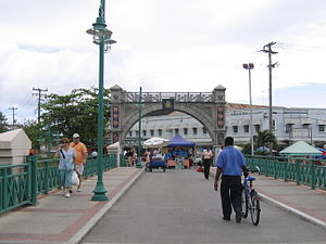 Chamberlain Bridge - The Commemorative Independence Arch