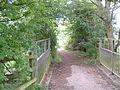 Bridleway next to A34 - geograph.org.uk - 14281.jpg