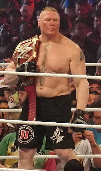 WWE Universal Championship - Current and record two-time champion Brock Lesnar, the longest single and combined reigning Universal Champion; his 504-day first reign is the sixth longest world championship reign in WWE history and the longest since 1988