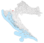 Brod Moravice within Croatia.png