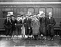Bronisław Czech Andrzej Marusarz Stanisław Marusarz Izydor Gąsienica-Łuszczek Kraków 1935.jpeg