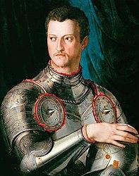 Agnolo Bronzino: Portrait of Cosimo I de' Medici