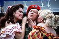 Brooke Shields, Bob Hope and Barbara Mandrell.JPEG