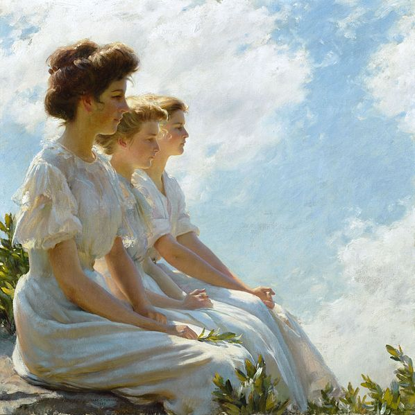 File:Brooklyn Museum - On the Heights - Charles Courtney Curran - overall.jpg
