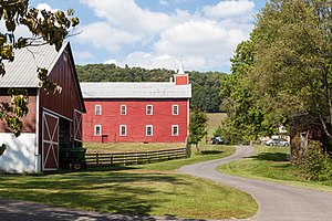 National Register of Historic Places listings in Preston County, West Virginia - Image: Brookside Farm, Brookside Historic District (Aurora, West Virginia)