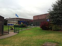 Brookvale High School Groby entrance.jpg