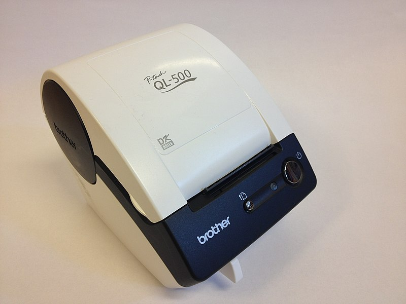 Bestand:Brother QR printer QL-500.JPG