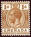 Brown 1923 1d Grenada Yv85 SG114.jpg